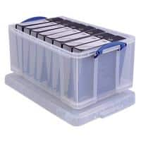 Really Useful Box Boîte de rangement 64CCB 64 l Transparent Plastique 44 x 71 x 31 cm