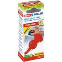 Roller de colle tesa ecoLogo 8,4mm x 14m Rouge Permanent