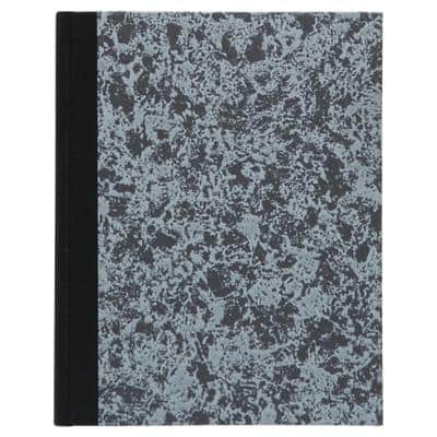 Carnet de notes Atlanta Couverture rigide Gris Dos rigide Ligné 210 x 165 mm 72 feuilles