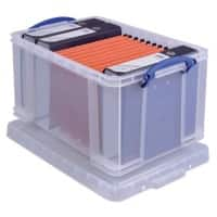 Really Useful Box Boîte de rangement 48CCB 48 l Transparent Plastique 40,5 x 61 x 31 cm