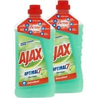 Nettoyant multi-usage Ajax Optimal 7 2 Unités de 1 L
