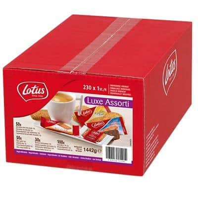 Biscuits Lotus Luxury 230 Unités de 7 g