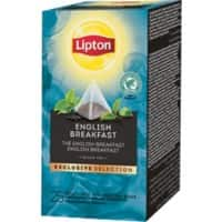 Thé English breakfast Lipton 25 Unités de 2 g